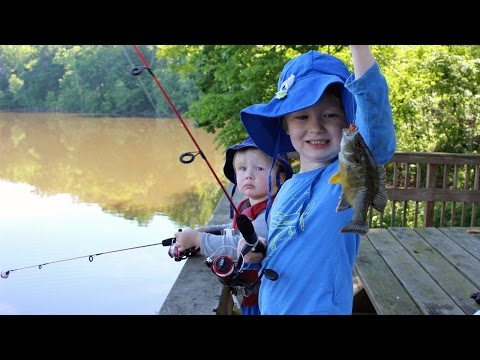 Fishing for bluegill - how to fish for bluegill - bluegill fishing