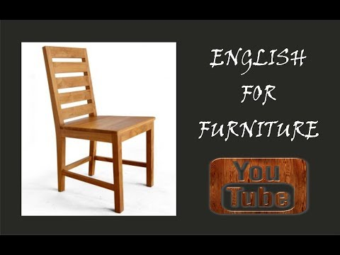 ENGLISH FOR FURNITURE