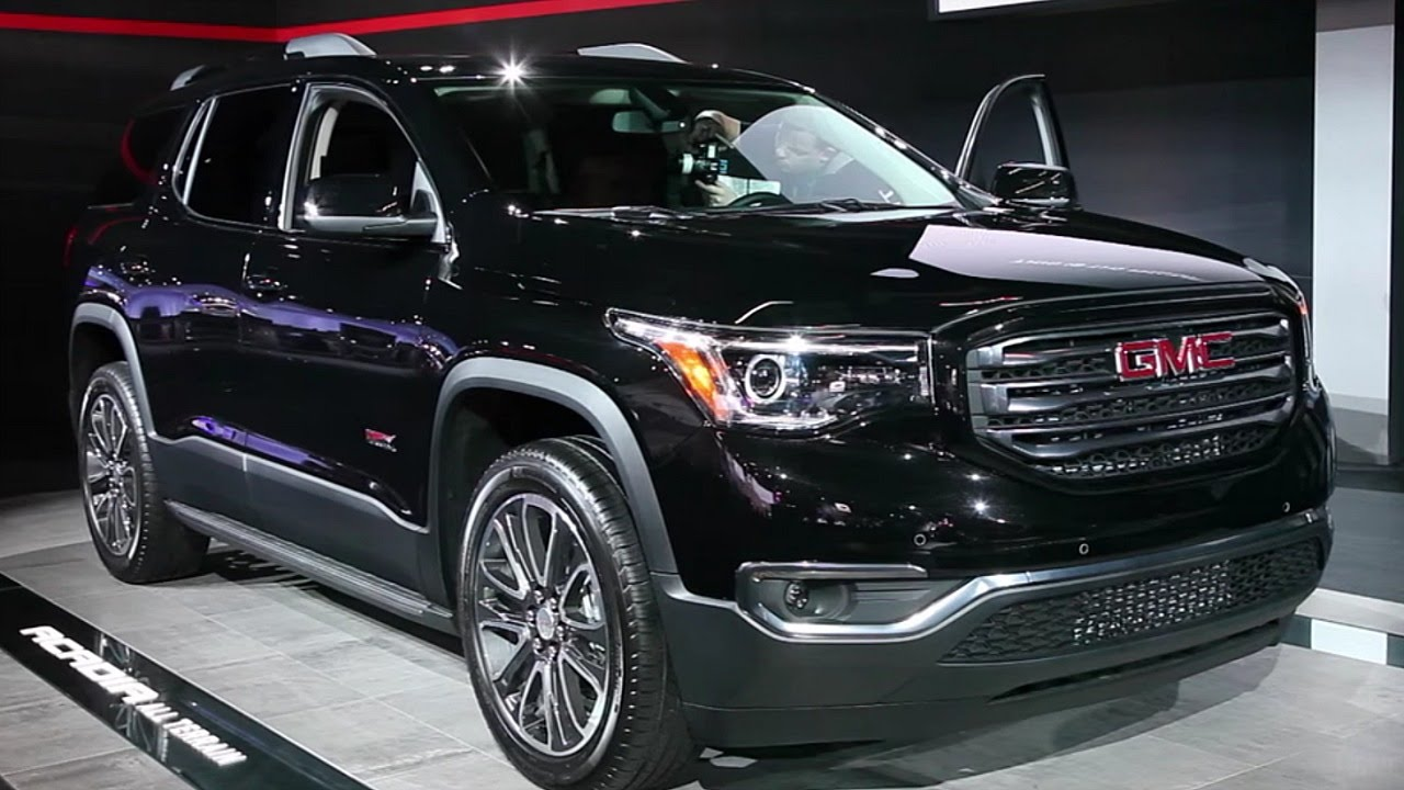 2017 GMC Acadia - 2016 Detroit Auto Show - YouTube