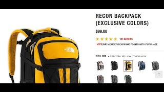 North Face Recon - Heritage EDC Backpack of Choice