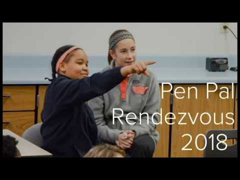 Pen Pal Rendezvous: CJA & Marian Middle School