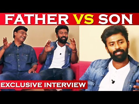 Shanthnuவை செமயா கலாய்த்த Bhagyaraj - Exclusive Father and son Funny Interview |