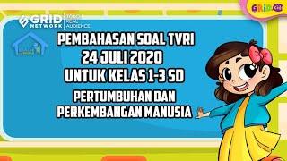 Soal Dan Jawaban Pertumbuhan Dan Perkembangan Manusia Belajar Dari Rumah Tvri 24 Juli 2020 Semua Halaman Kids