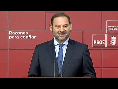 """""""VOX, PP y CS, Chantaje de la ultraderecha en Andalucía"""" José Luis Ábalos - 동영상"""