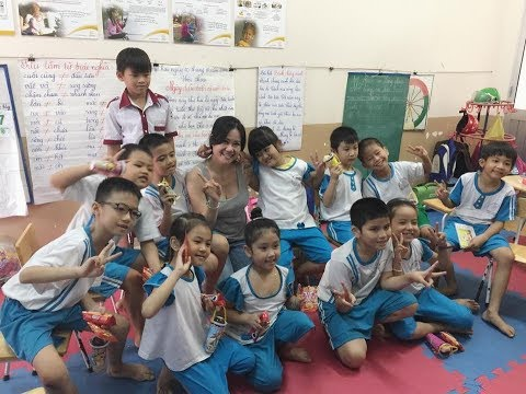 Dolled Up Spa Charities In VietNam 2017.