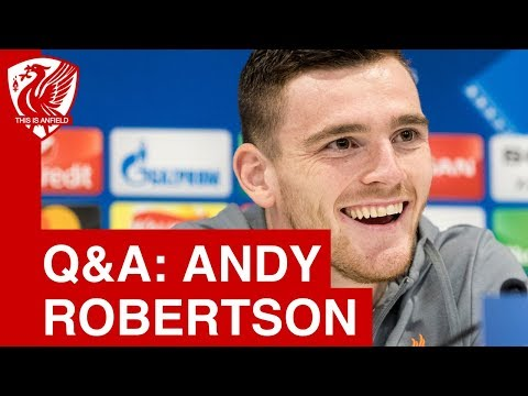 Andy Robertson Liverpool FC, Man City and Champions League
