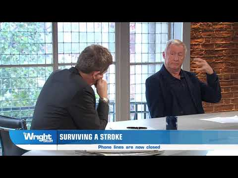 Chris Tarrant tells us about his own story of surviving a stroke! #Wrightstuff