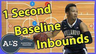 1 Second Basketball Baseline Inbounds Plays