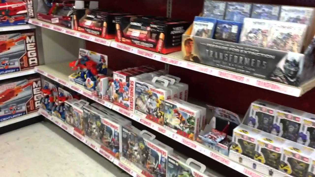 Boys Toy Store Aisle : Transformers toysrus feature shop new movie toys figures