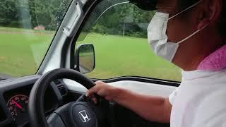 軽トラにV型12気筒エンジンを積んでみました。   #アクティトラック #軽トラック #ホンダミュージック #サウンドレーサー #法定速度を遵守してます.
