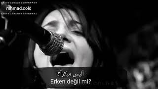 أغنية الحلقة 19 من حب أبيض أسود مترجمة (هل يرحل الجميع) Cem Adrian & Aylin Aslım - Herkes Gider Mi