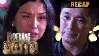 Kadenang Ginto: Week 56 Recap - Part 1 Kadenang Ginto October 28-30, 2019 Robert (Albert Martinez) is finally back to his family. However, his return stirs up ...
