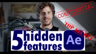 5 HIDDEN FEATURES in AFTER EFFECTS
