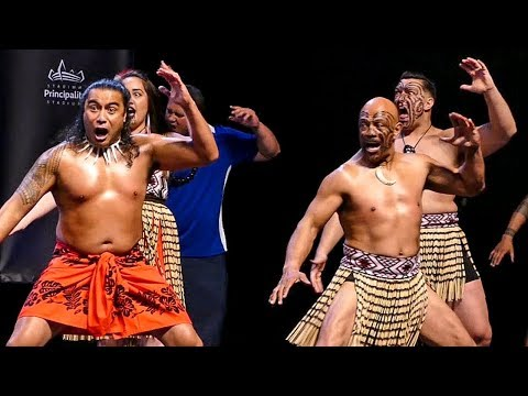 JOSEPH PARKER: Haka - Māori war dance ENTRANCE to weigh in | Joshua vs Parker