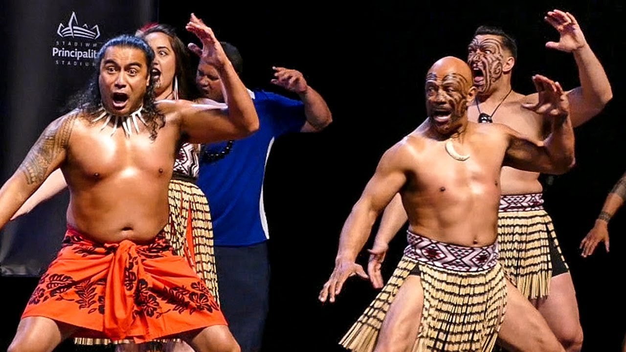 Maori Haka: Māori War Dance ENTRANCE To Weigh In