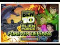Play Free Online Games Ben 10 Games Of Alien Force Forever Defense Game