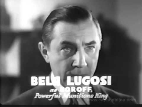 1937 S.O.S. COAST GUARD SERIAL TRAILER - BELA LUGOSI, RALPH BYRD