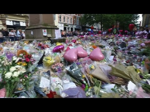 Tributes pour in for victims of Manchester attack