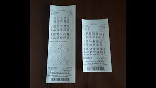 Купила 2 билета Лото Забавы в терминале. Необычное видео.