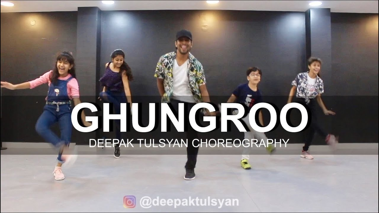 Ghungroo - Dance Cover | Deepak Tulsyan Choreography | War | Hrithik Roshan, Arijit Singh