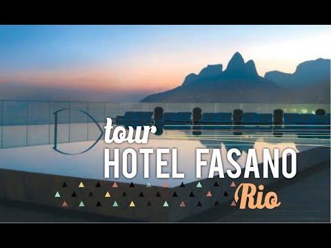 TOUR PELO FASANO, O HOTEL DAS CELEBRIDADES NO RIO