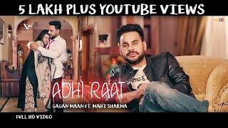 Gambar cover Adhi Raat || Gagan Maan FT. Mahi Sharma || Official Music Video || VS Records