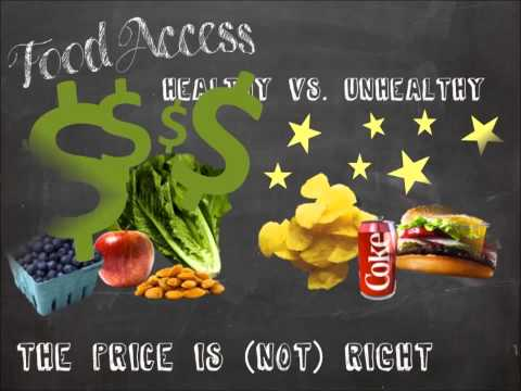 Social Determinants of Health - Food Access and U.S. Obesity