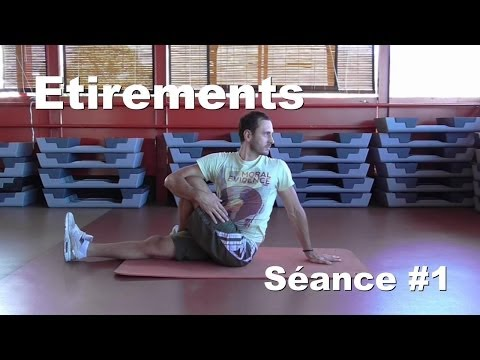 Séance de stretching, étirements après l'entraînement - Santedefer.fr