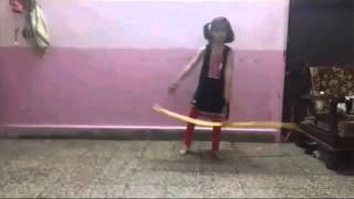 Small girl - Ribbon dance - senorita dance - ZNMD