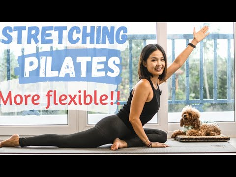 Do this Stretching Pilates Workout to be more flexible!