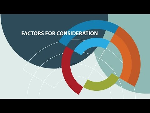 Introducing PHARMAC's Factors for Consideration