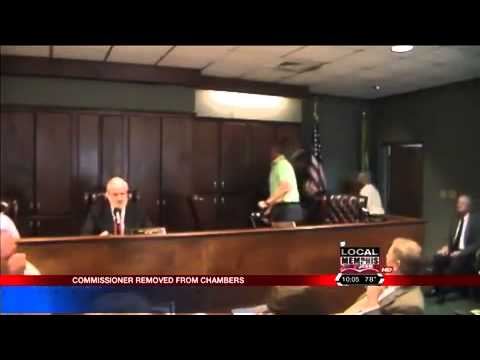 Clarksdale Commissioner Removed From Meeting...Again