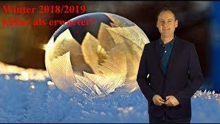 Wintervorhersage 2018/19: Bekommen wir doch viel Kälte und Schnee? (Mod.: Dominik Jung)
