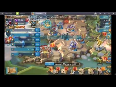 Lords Mobile 150 Chests + 50 Admin/guild Quest Open