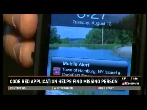 CodeRED Mobile Alert app helps Hamburg police locate missing person