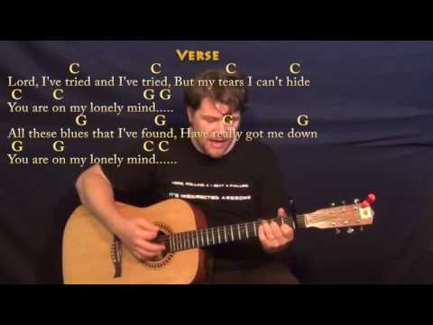 There's A Tear In My Beer (Hank Williams) Guitar Cover Lesson with Chords/Lyrics - Capo 1st