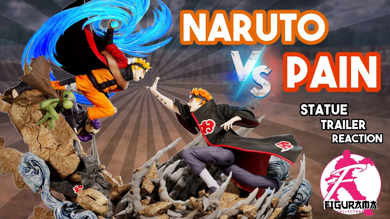 Download REACTION! Naruto 🆚 Pain - Elite Fandom Statue by Figurama Collectors l Future UNBOXING!