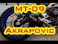Yamaha Mt 09 Akrapovic Carbon