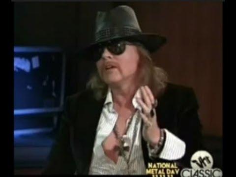 Guns N' Roses Axl Rose Talks Get In the Ring & Izzy Stradlin Weighs In!