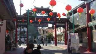 trip to LA.china town,little tokyo,hollywood