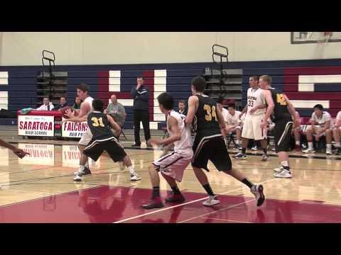 Boys Hoops: Mountain View v Saratoga 2-5-13