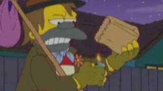 Simpsons - Nelson: kann nicht reden muss kacke anz