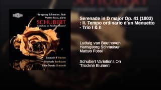Serenade in D major Op. 41 (1803) : II. Tempo ordinario d