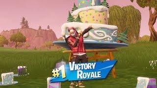 ALL BIRTHDAY CAKE LOCATIONS! [Fortnite battle Royale]
