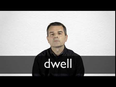 How to pronounce DWELL in British English