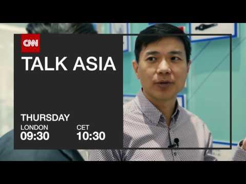 """CNN International: """"Talk Asia - Robin Li"""" promo"""