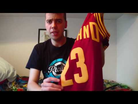 LeBron James NBA Swingman Jersey Review