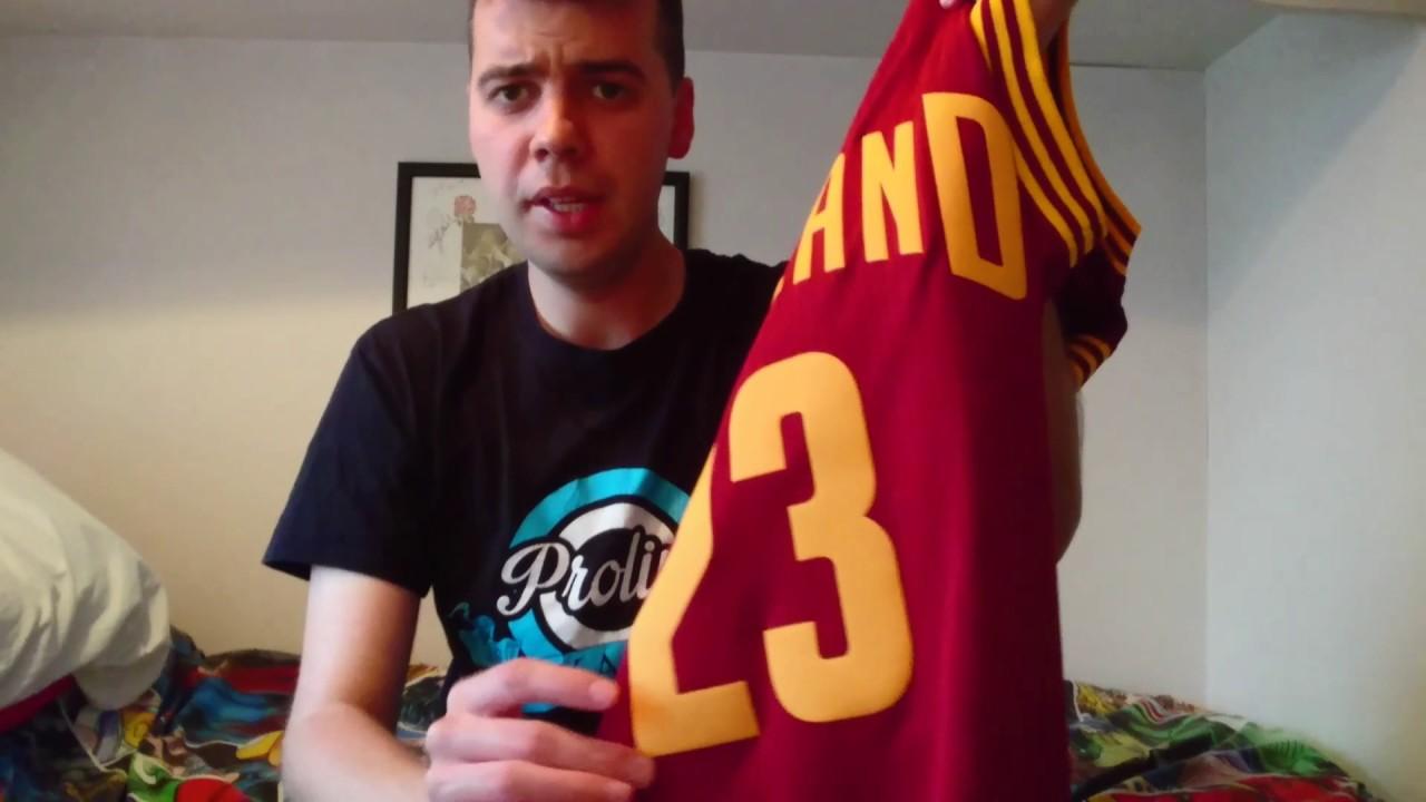 958844201cd LeBron James NBA Swingman Jersey Review - YouTube