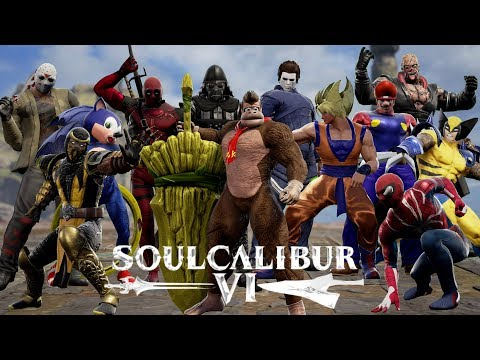SOULCALIBUR 6 CREATIONS SHOWCASE ( 54 Characters )