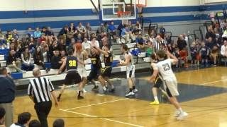 PJ Ringel steal and lefty finish